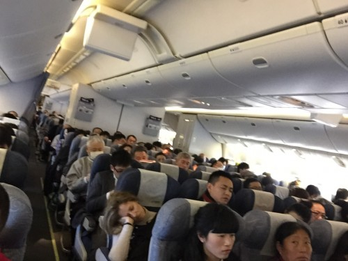 image153-500x375 1月18日 CA930便成田発上海浦東行きエコノミークラス