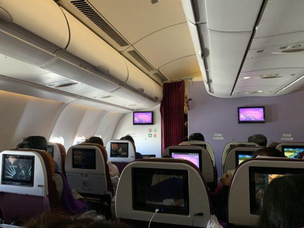 6A441C7E-5C2A-4ECA-9ED2-76414400F5E6-600x450 2019年4月9日タイ航空642便エコノミークラス