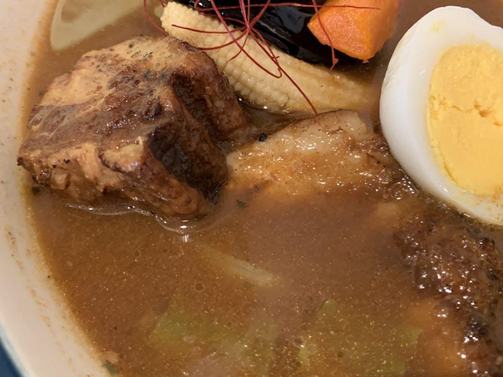 F64D756E-4406-43C7-9580-986A62C0F09B-1024x768 札幌 ZORAの炭焼き角煮スープカレー