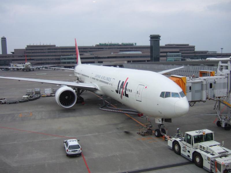 DSCF1945 2008年4月JAL703便成田発バンコク行きエコノミークラス