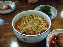 blog_import_54114b0d04a7d 済州 ムルハン食堂のサバの煮つけとイカの水刺身