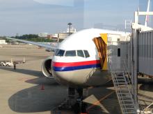 blog_import_5411557402a9c 5月3日MH88便クアラルンプール発成田行きビジネスクラス