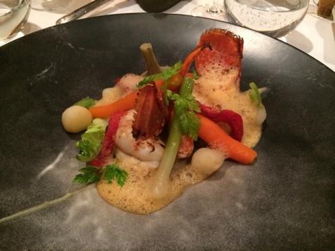blog_import_546c1d588397f オンフルールの宿 FERME SAINT SIMEONの夕食