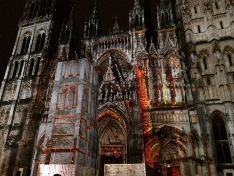blog_import_546c1d8e966ac ルーアン大聖堂のプロジェクトションマッピング